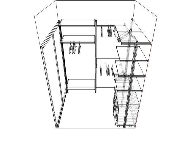 Гардеробная комната своими руками - фото примеров