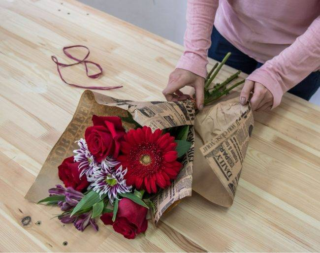 Создание красивых букетов из цветов