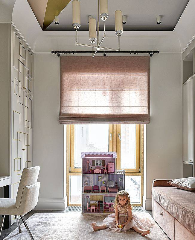 Римские шторы (105 фото) - лучшие новинки дизайна шторв и сочетания в интерьере