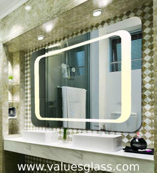 Зеркало в ванную: советы, как выбрать подходящий дизайн, размер, форму и подсветку, 125 фото красивых зеркал