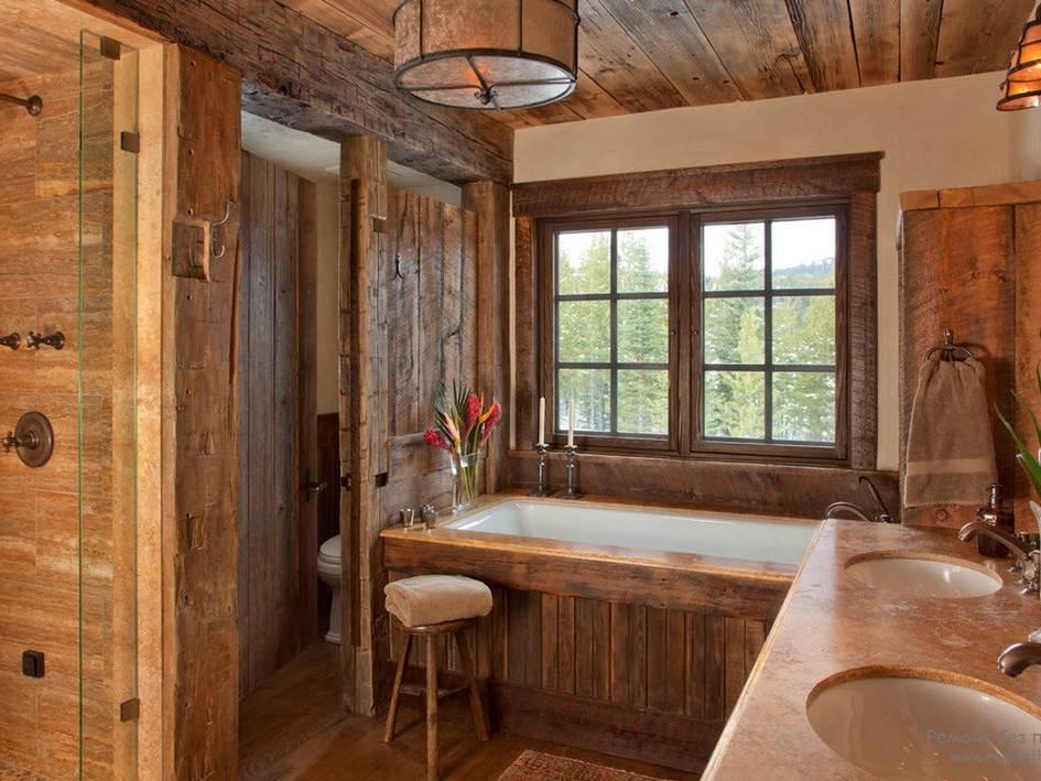 Внутренняя отделка деревянного дома: 30 идей на все времена