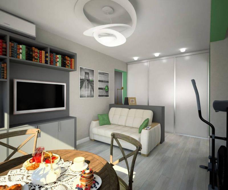 Дизайн однокомнатной квартиры хрущевки фото без перепланировки