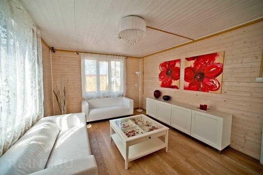 Крашеная вагонка (36 фото): окрашенная деревянная белая продукция в интерьере, цвет материала для ремонта внутри дома