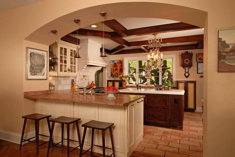 Арка на кухню: выбор формы, материала и дизайна. 120 фото и видео лучший решений сезона!