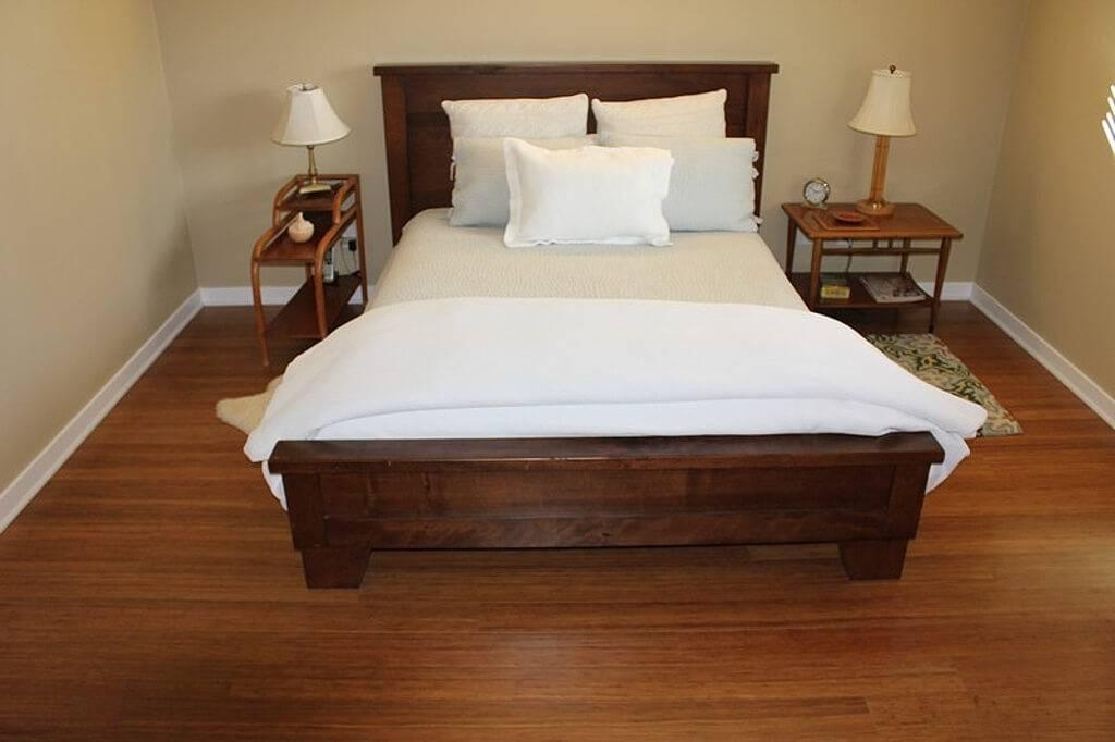 Выбор линолеума для спальной комнаты — какой лучше