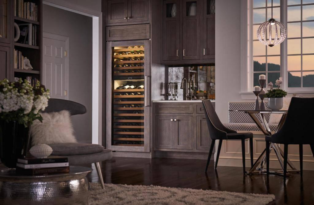 Дизайн кухни цвета дерева венге: как правильно оформить интерьер в современном стиле