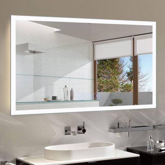 Зеркало в ванную - как выбрать? советы по выбору вида и модели зеркал (125 фото)