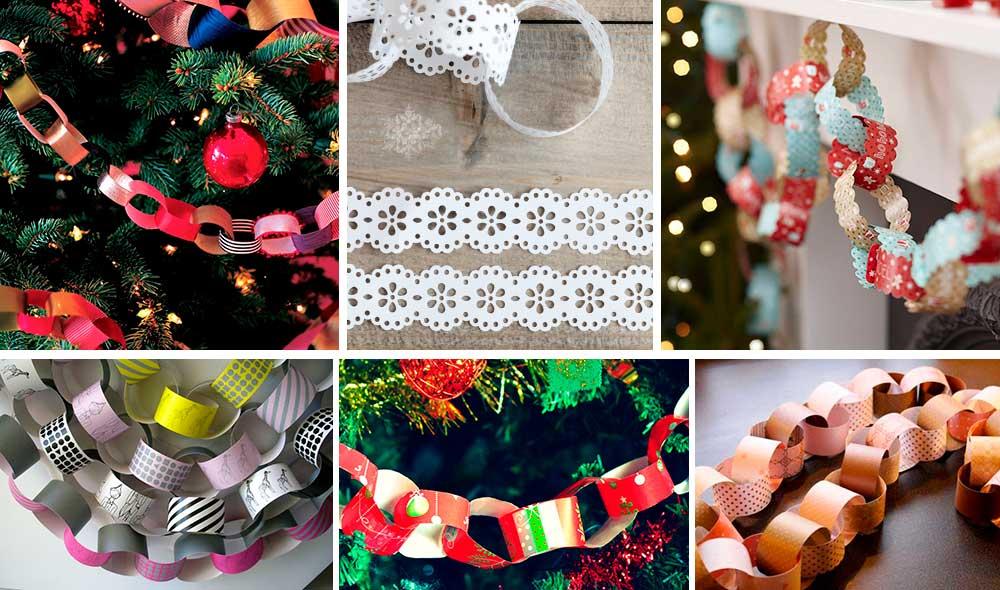 Новогодние гирлянды своими руками – самые волшебные! схемы и шаблоны гирлянды на новый год
