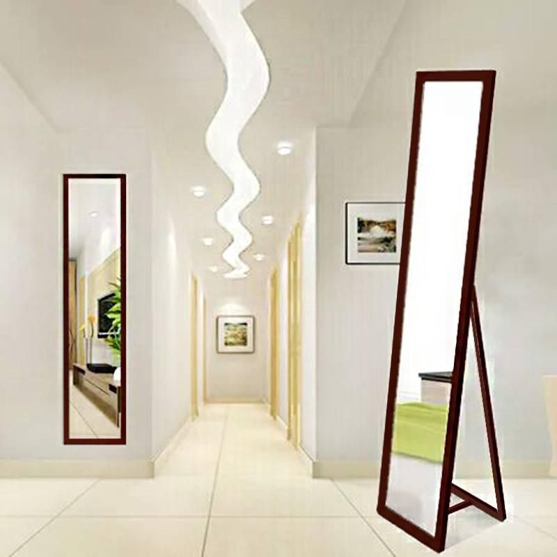 Оформление декоративной зеркальной стены в интерьере разных комнат