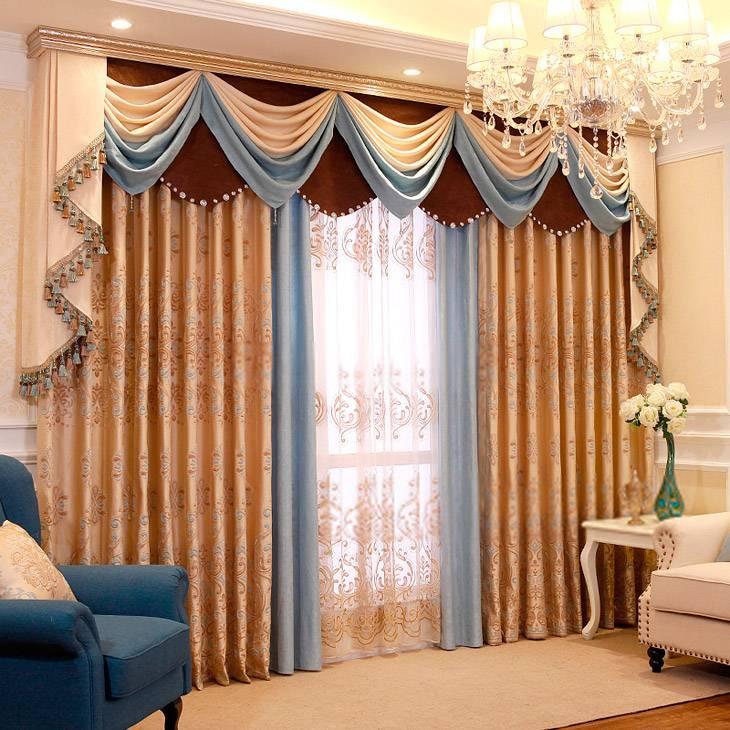 Шторы в гостиную - 140 фото лучших идей дизайна и сочетания