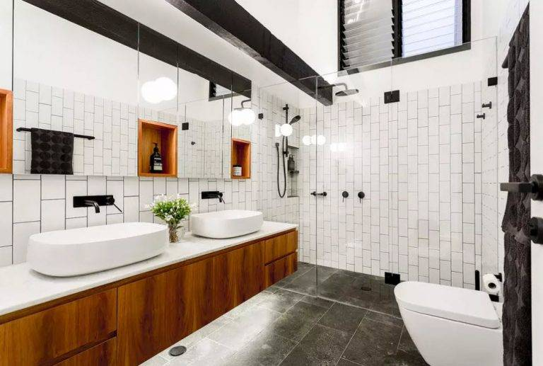 Черная ванная комната: фото и дизайн-секреты оформления. ванная комната в темных тонах: дизайн и фото