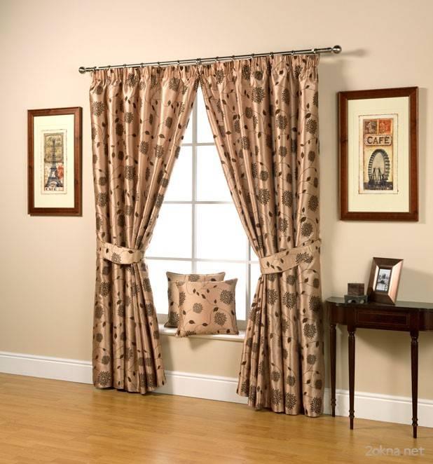 Подбор штор для комнат: цвет, модель и длина