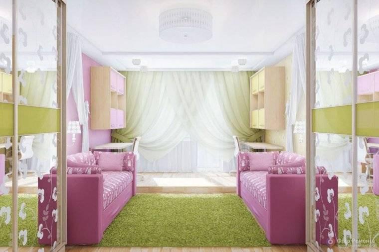 Дизайн узкой детской комнаты: методы корректировки тесного помещения