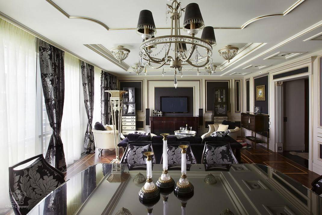 Дизайн интерьера элитной квартиры (37 фото): варианты проектов роскошного элитного дома, какой стиль предпочесть в красивом частном коттедже