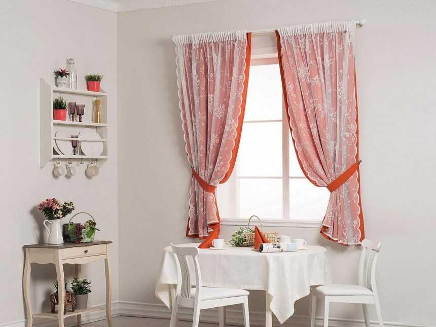 Шторы на кухню: топ-150 фото лучших вариантов штор на кухню. помощь в выборе материалов и видов кухонных штор