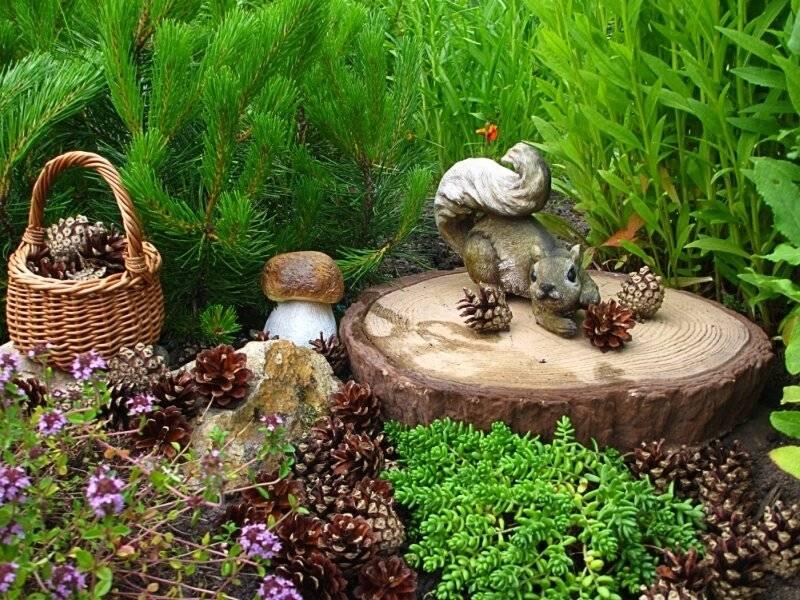 Садовые скульптуры: мастер-класс и пошаговые советы применения скульптур