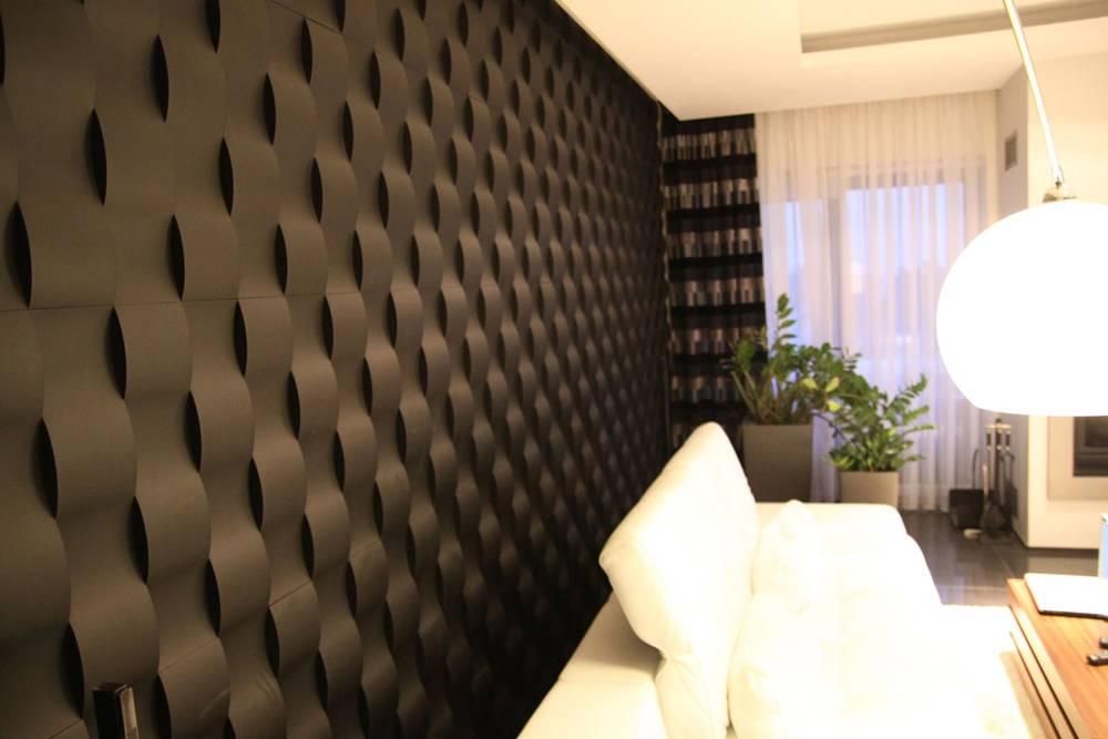 Декоративные 3д панели: гипсовые, мдф и пвх для внутренней отделки стен