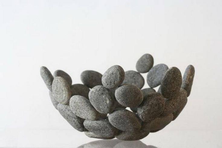 Поделки из камней: креативные варианты поделок из камней + поэтапная инструкция изготовления своими руками, способы и схемы работы