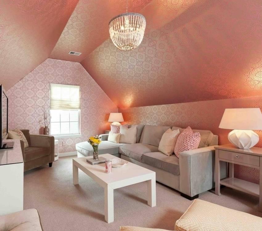 Дизайн мансардного этажа, особенности помещений, выбор окон, предметов интерьера и отделки - 28 фото