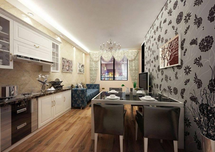 Какие обои выбрать для кухни: лучшие варианты и идеи дизайна (45 фото)