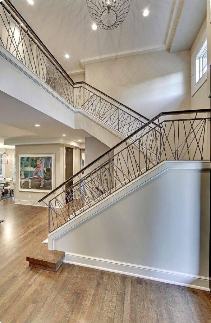 Лестница в частном доме (140 фото)   лучшие дизайнерские проекты