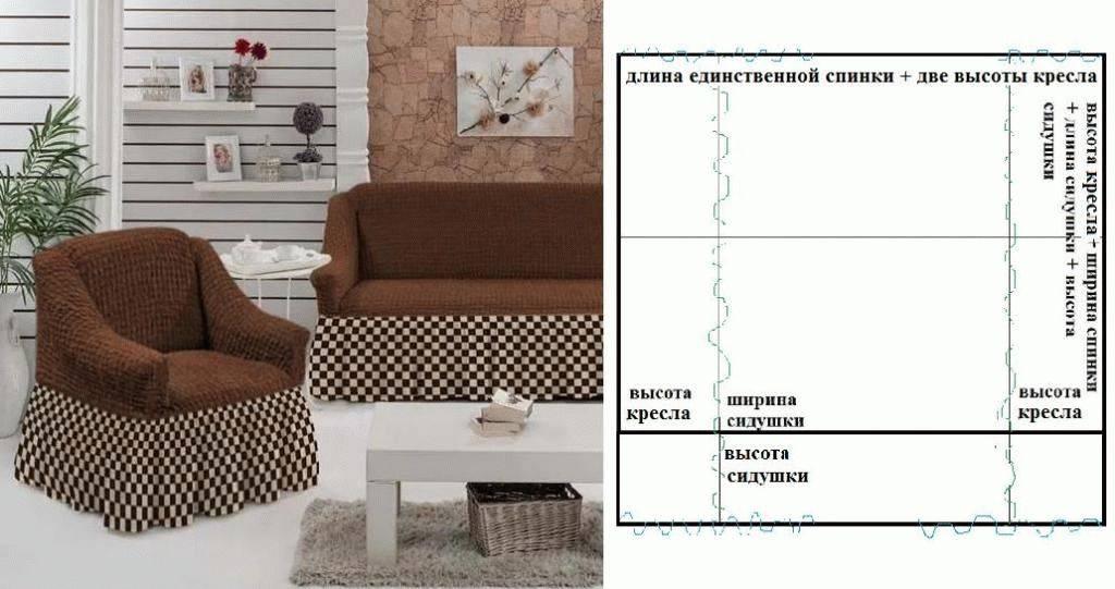 Чехол на диван своими руками - 100 фото простых и необычных моделей для диванов различных форм
