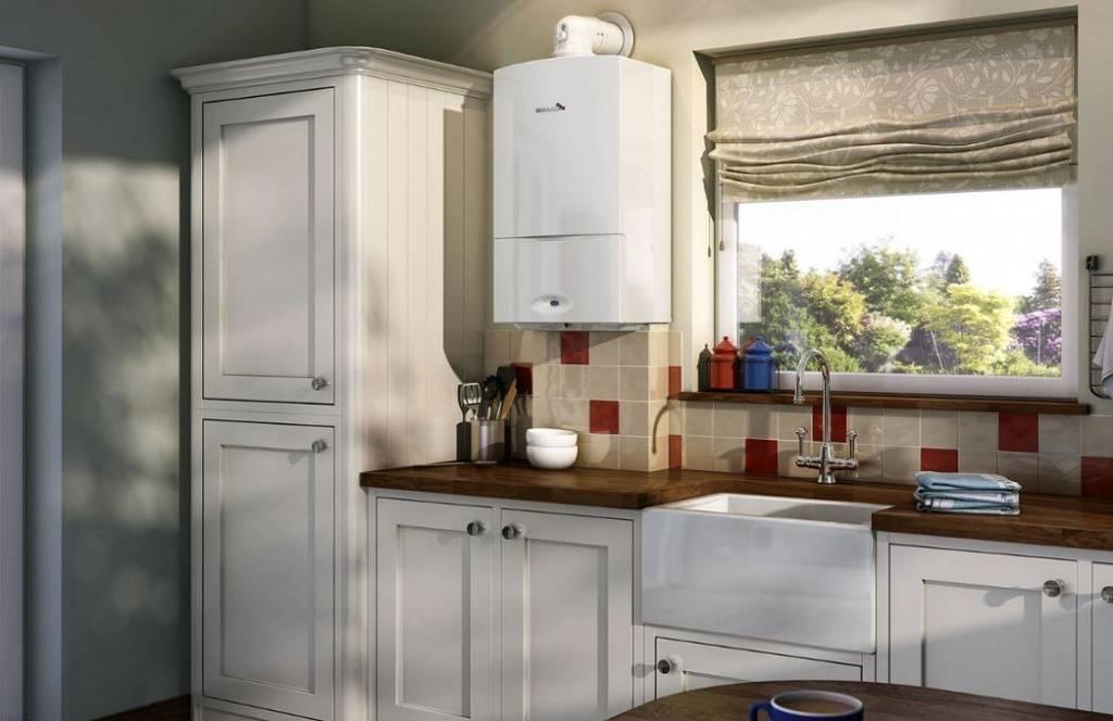 Котел на кухне: лучшие варианты установки и маскировки котла на кухне + фото-примеры оформления