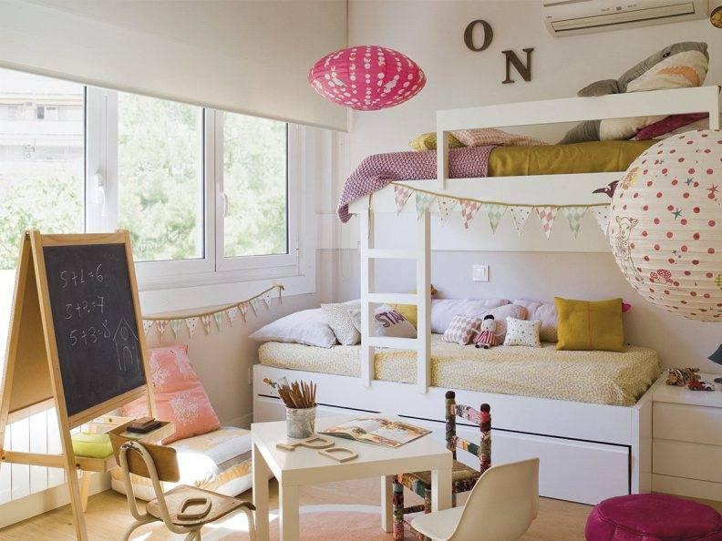 Широкий взгляд на узкую детскую – 7 дизайнерских приемов