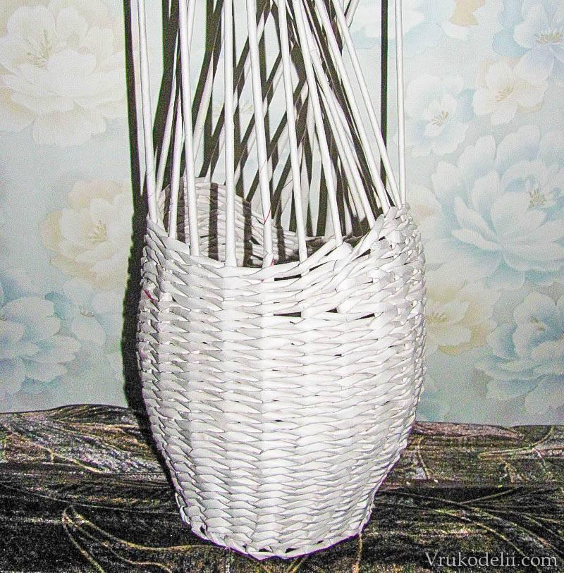 Как сделать трубочки из газет своими руками — пошаговая инструкция + мастер-класс по плетению изделий из трубочек