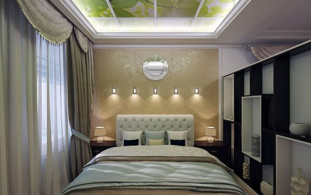 Натяжной потолок в спальне: 90 фото дизайна, особенности применения и лучшие варианты оформления