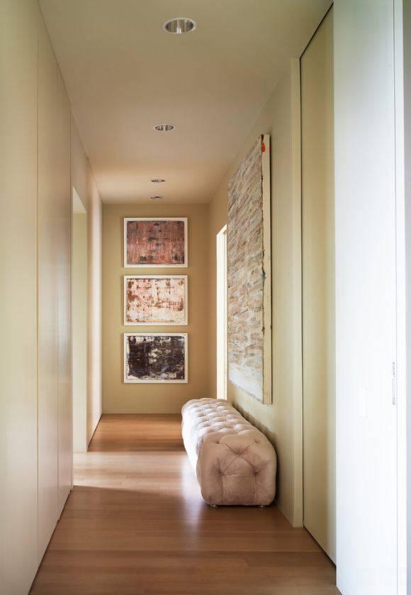 Дизайн длинного коридора в квартире с фото, коррекция пространства