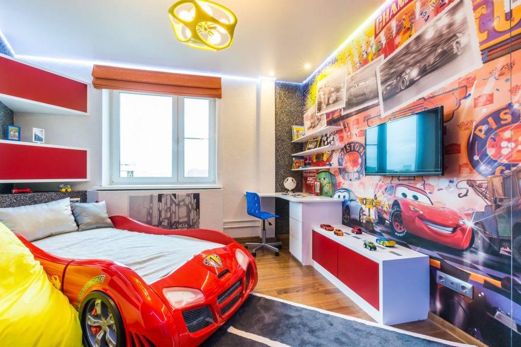 Комната для мальчика 3-10 лет: дизайн интерьера детской спальни, идеи оформления  - 56 фото