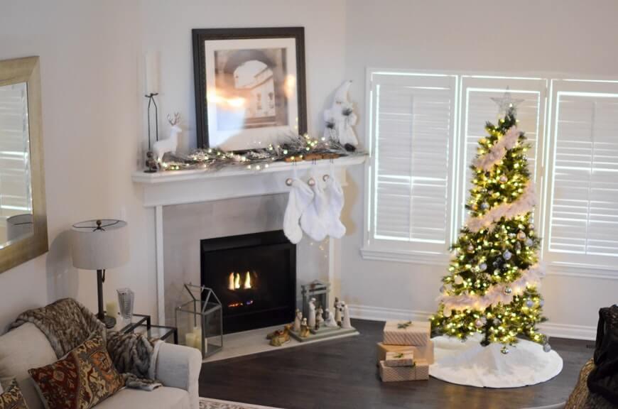 Классический новогодний декор — расписываем по порядку