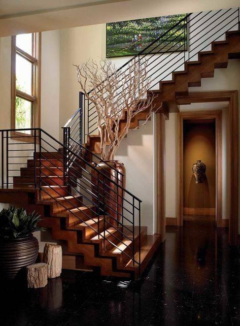 Конструктивные особенности ограждений для лестниц в частном доме