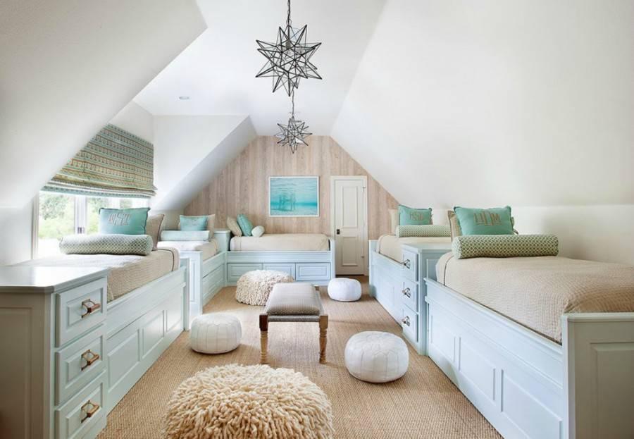 Мансардная спальня: советы по обустройству и идеи дизайна (40 фото)   дизайн и интерьер