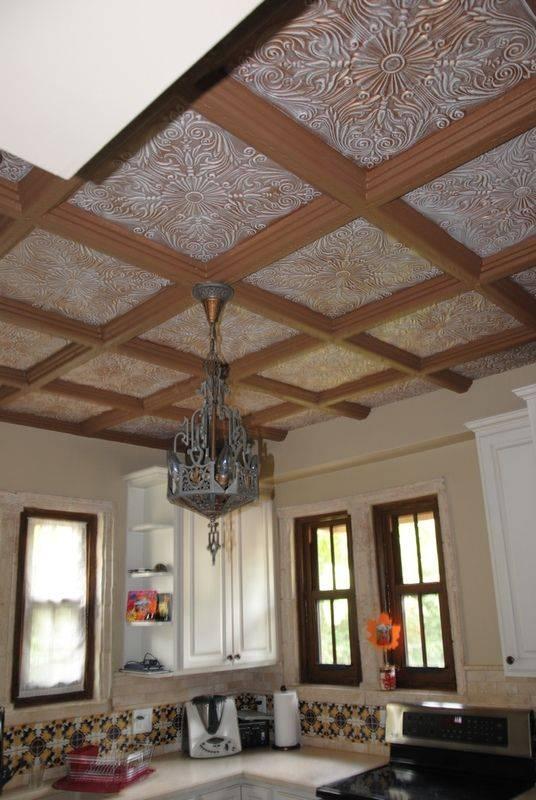 Декор потолка: как украсить декоративный потолок своими руками, идеи украшения, декорирование тканью