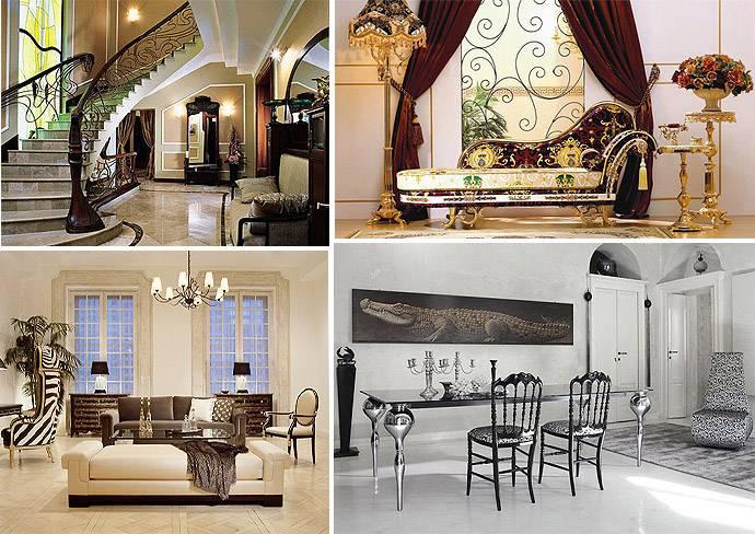Стили интерьера: список стилей дизайна интерьеров
