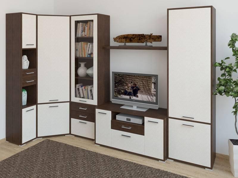 Модульная стенка для гостиной: особенности выбора и размещения