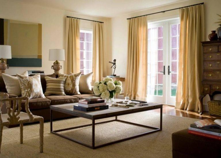 Шторы в гостиную: 119 фото лучшего дизайна для современного интерьера