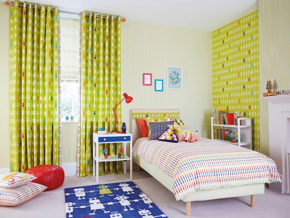 Шторы в детскую, фото и советы как выбрать шторы в детскую комнату