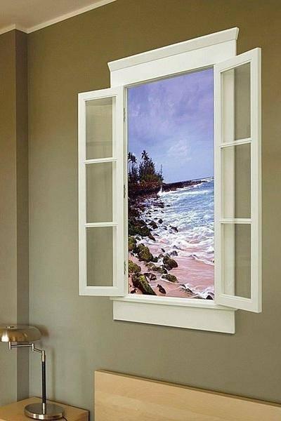 Дизайнерские окна как акцент оригинального интерьера, популярные формы и цвета, соответствие оконного дизайна стилю жилья - 13 фото