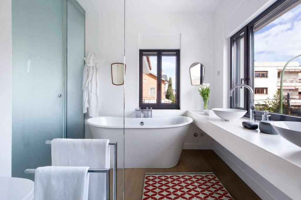 Современные ванные комнаты: идеи, советы и готовые проекты (65 фото)