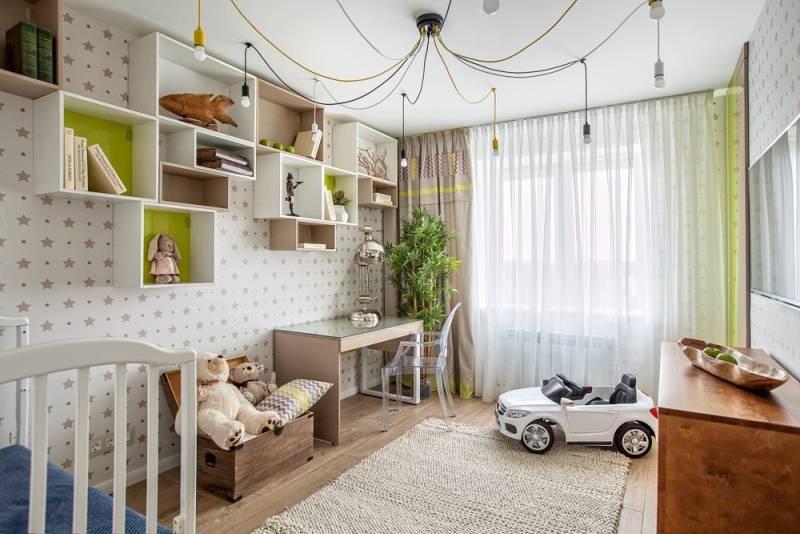 Ремонт детской комнаты 2021. 100 фото готовых интерьеров, выполненных профи