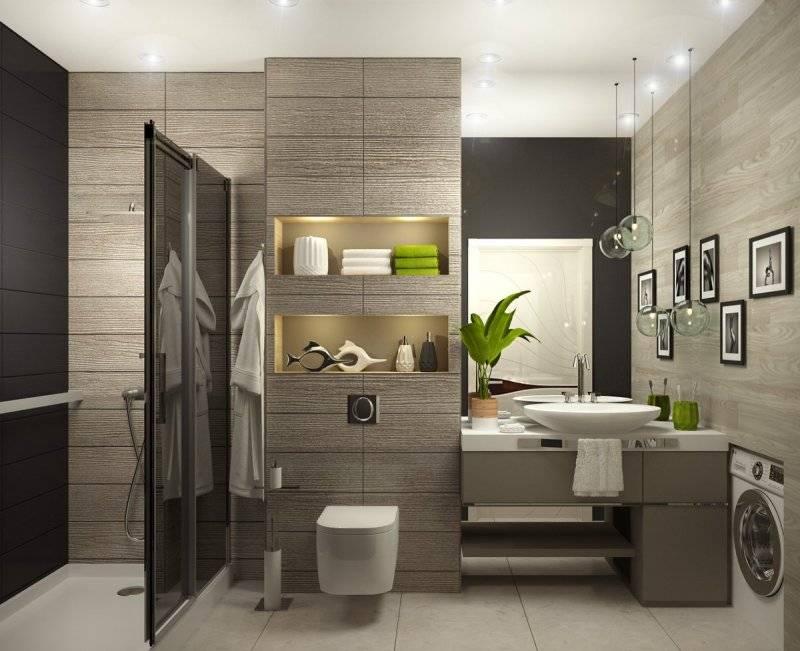 Оформление ванной комнаты под лофт: признаки стиля и варианты отделки