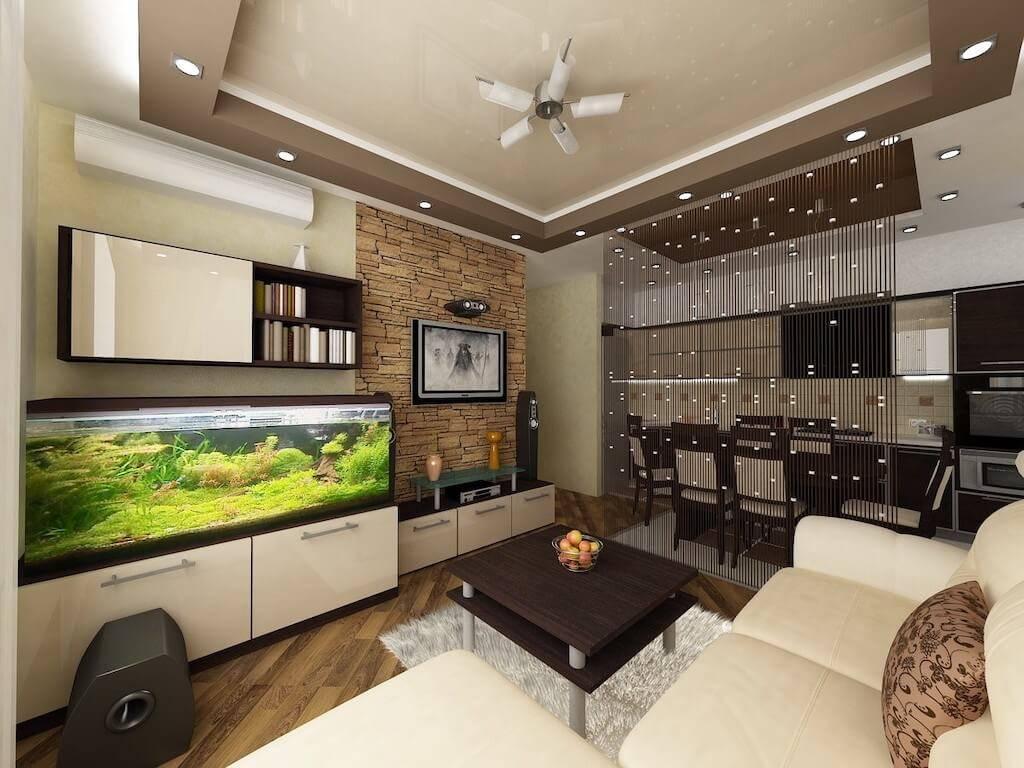 Кухня-гостиная 25 кв. м: популярные способы планировки и дизайна