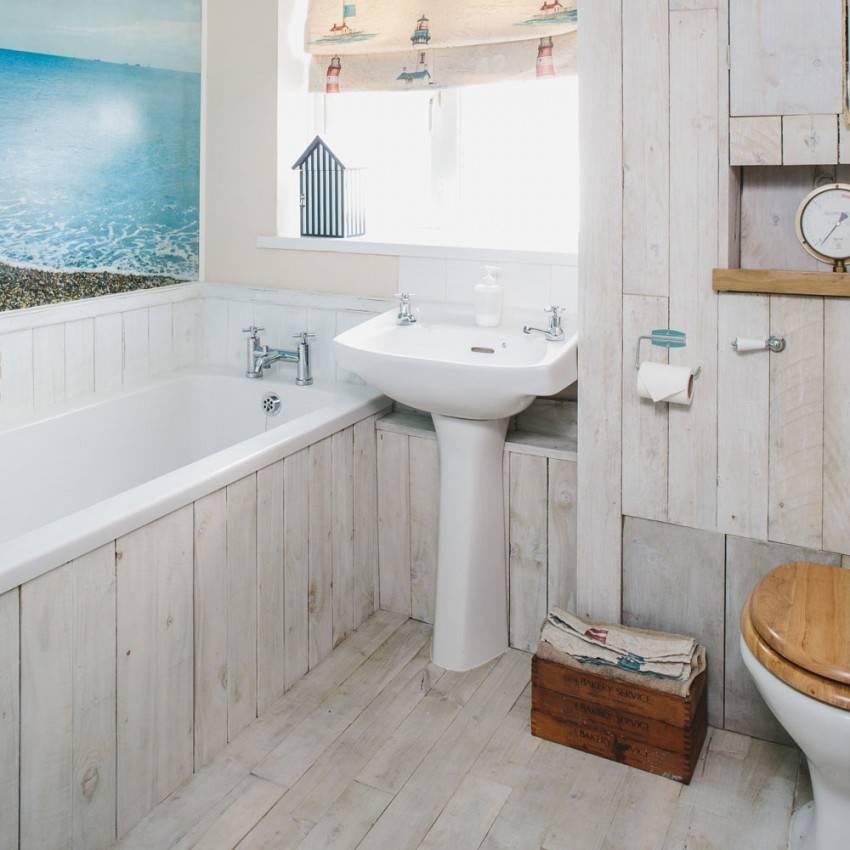 Ванна в морском стиле – небанальные идеи для вашего интерьера