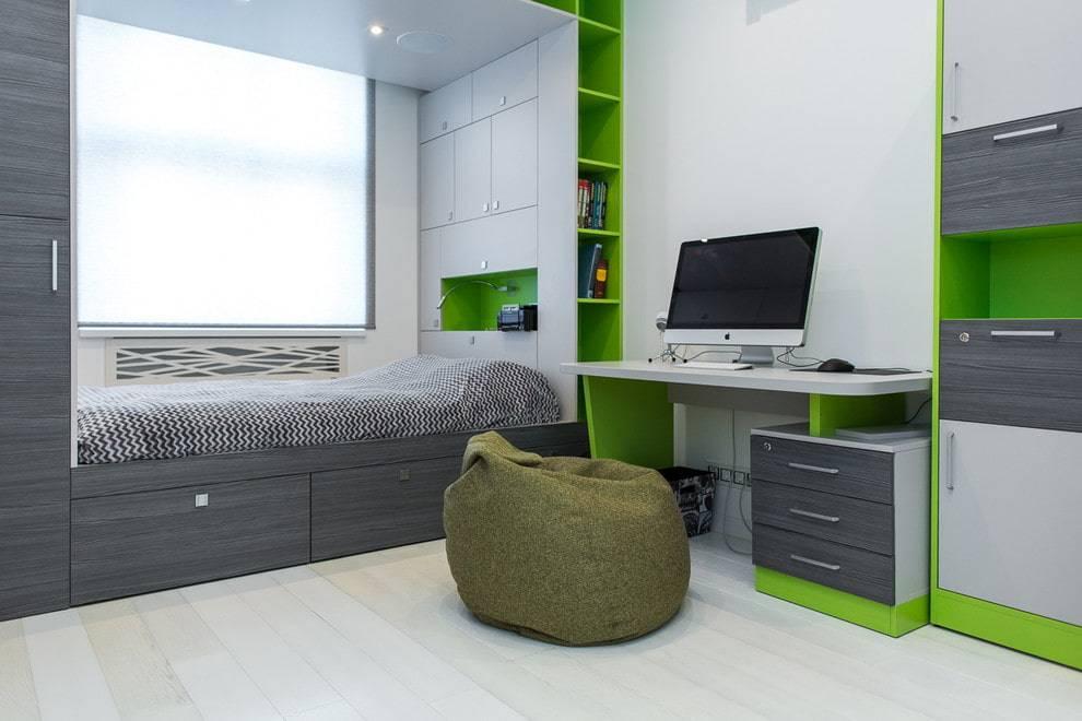 Мебель для комнаты подростка: особенности выбора и дизайна