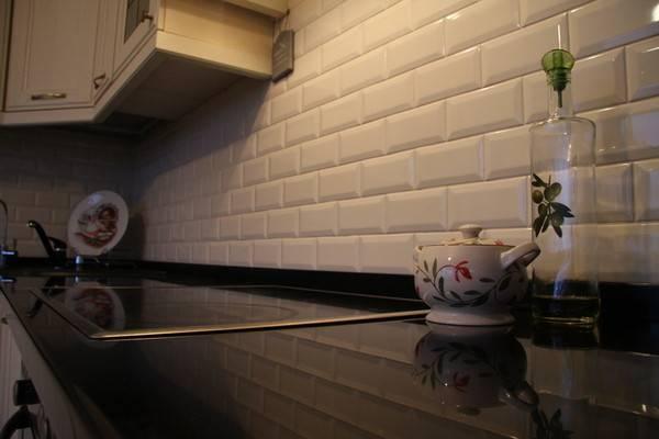 Плитка для кухни на фартук: 105 фото примеров реального интерьера кухни для плитки