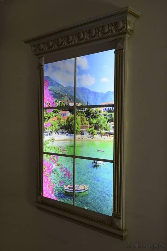 Межкомнатные окна: что это, плюсы и минусы, роль в интерьере
