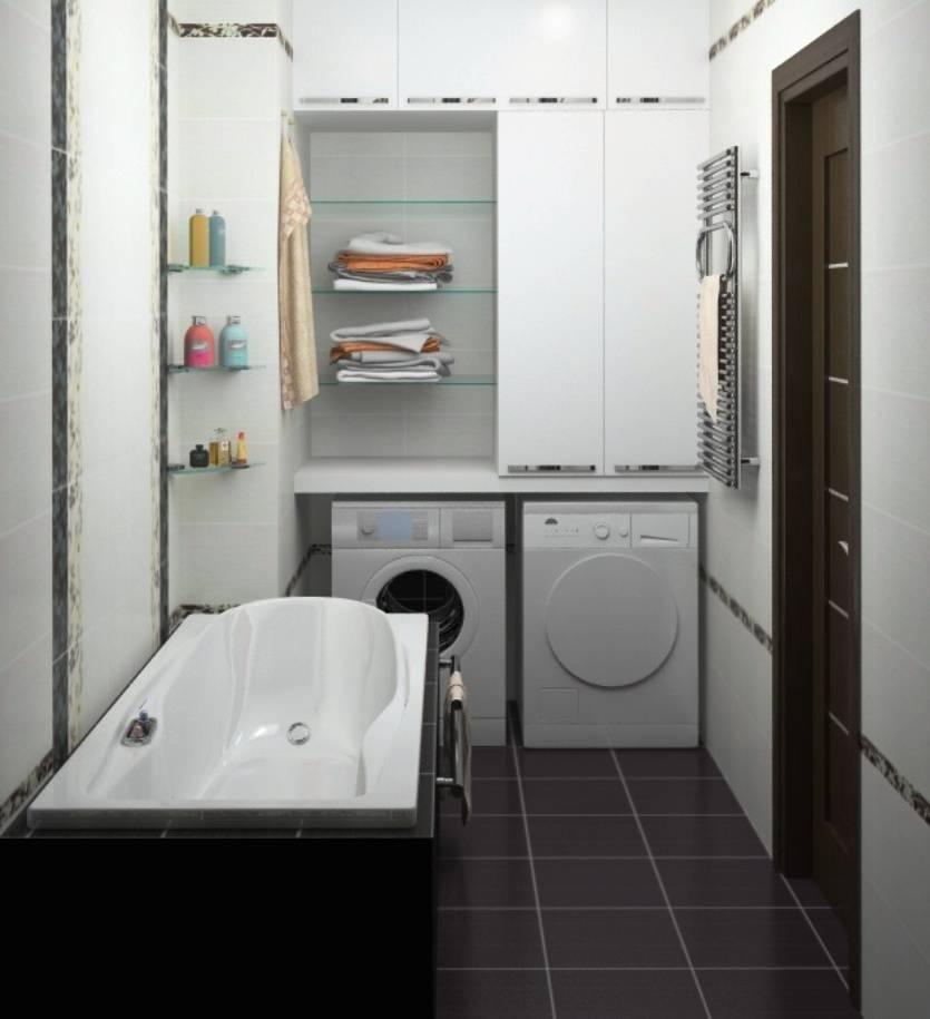 Дизайн ванной комнаты 3 кв.м. фото проекты лучших интерьеров